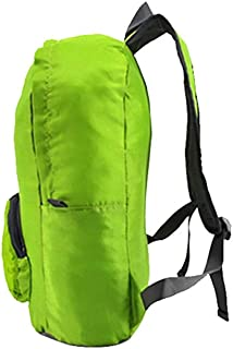 Promiscuous to Store, Big Capacity, Fold Backpack Outside Backpack Hiking Travel Leisure Backpack Waterproof Fabric Mini Backpack Standard (Color : Green, Size : L42W28H12)
