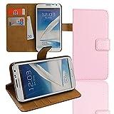 Eximmobile Cartera Funda Flip Case Funda para Samsung Galaxy Otros Modelos Rosa Samsung Galaxy Ace 3