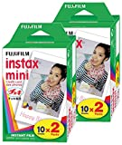 FujiFilm Instax Mini Film (40 Fotos) Multi Pack para Mini 8-9 y Todas Las cámaras Fuji Mini