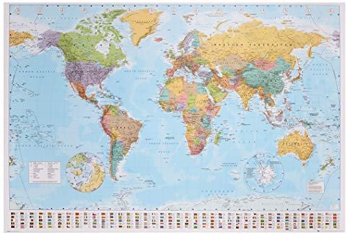 ポスター 世界地図 GN-0214