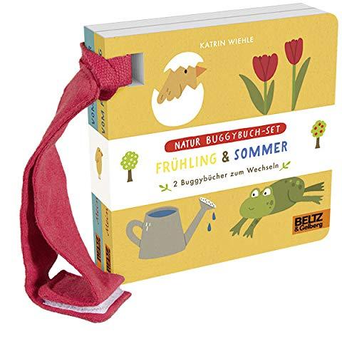 Natur Buggybuch-Set: Frühling und Sommer: 2 Buggybücher zum Wechseln