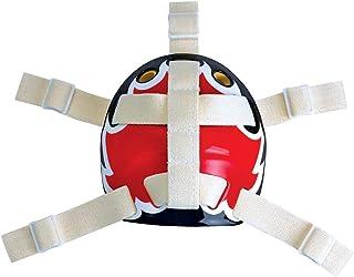 A&R Sports Open Back Goalie Helmet Harness - White