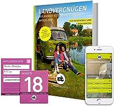 Landvergnügen Deutschland 2018: Der andere Stellplatzführer Saison 2018