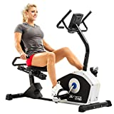 XTERRA Fitness SB150 Recumbent Exercise Bike, Black