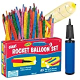 Best Balloon Set With Pumps - Toysmith Giant Rocket Balloon Set Review