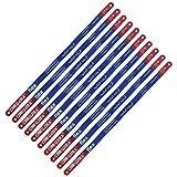 "Bdmetals 10 Piece Hacksaw Replacement Blades 12"" High Speed Metal Cutting Hacksaw Blades with 24 Teeth Per..."