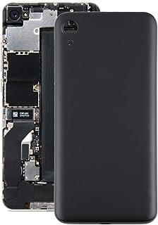 Mobile Phones Communication Accessories Battery Back Cover for Motorola Moto E6 (Color : Black)