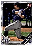 2019 Bowman Prospects #BP-36 Ryan Vilade RC Rookie Colorado Rockies MLB Baseball Trading Card. rookie card picture