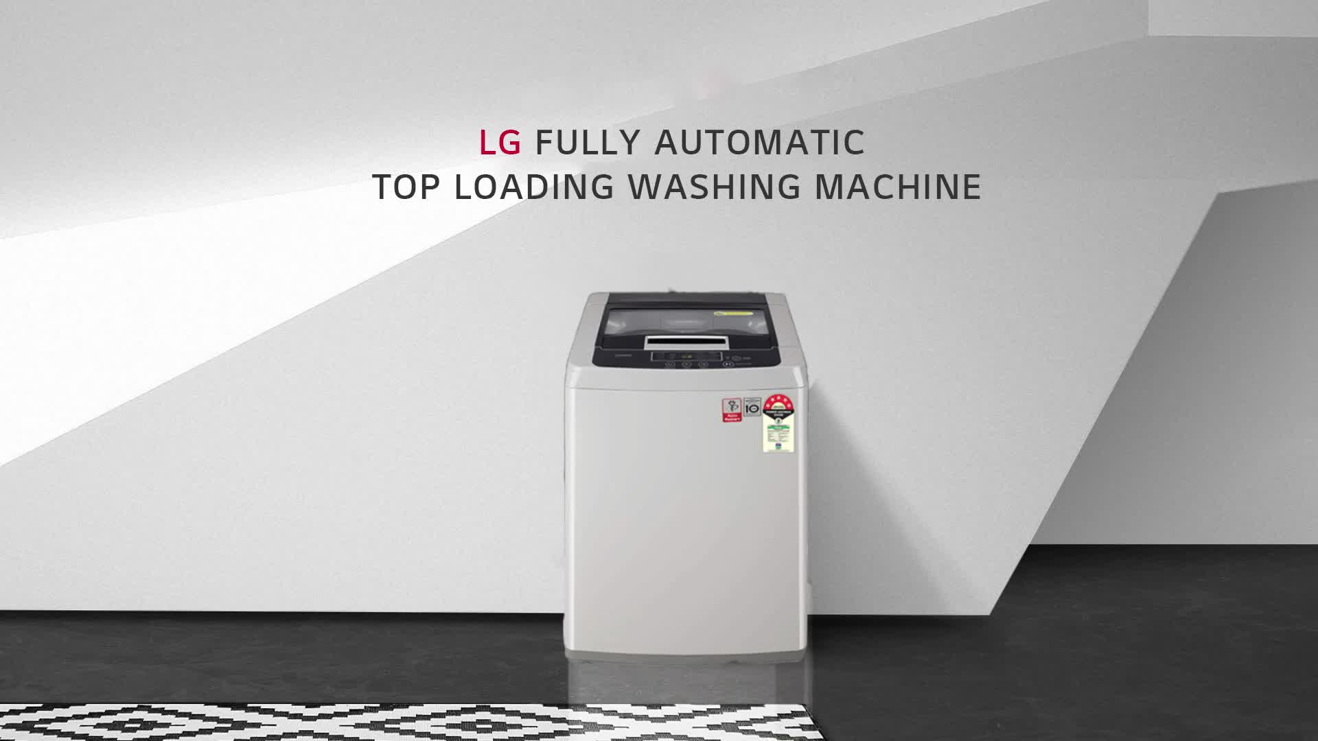LG 6.5 Kg 5 Star Smart Inverter Fully-Automatic Top Loading Washing Machine (T65SKSF4Z, Middle Free Silver) 2021 June Fully-automatic top load washing machine: Affordable with great wash quality, Easy to use 5 Star Energy Rated Model : Best in class efficiency Capacity 6.5 Kg : Suitable for bachelors & couples