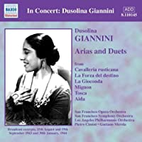 Arias & Duets by V. Giannini (2007-02-13)