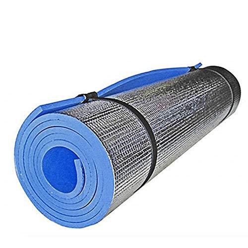 Leoie - Esterilla de yoga antideslizante para actividades en interiores, yoga, pilates al aire libre, almohadilla de entrenamiento de fitness y picnic