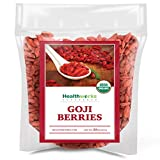 Healthworks Raw Goji Berries (32 Ounces / 2 Pound) | Certified Organic & Sun-Dried | Keto, Vegan & Non-GMO | Baking,...