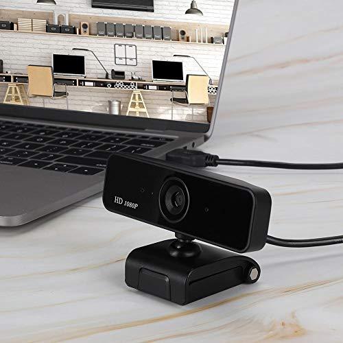 Naroote S 1 Webcam HD, Autofocus Web Camera 1080P, con Microfono Incorporato per PC