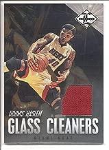 Udonis Haslem Miami Heat 2012-13 Panini Limited Jersey Memorabilia Basketball Card #30/99