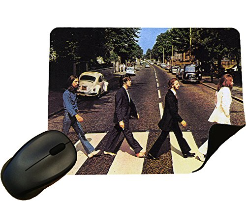 Beatles Abbey Road Album cover Mouse Mat/Pad - By Eclipse Gift Ideas