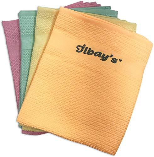 Ilbays Mikrofaser Reinigungstücher | 4 Stück |