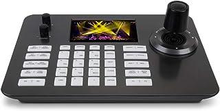 """Controlador PTZ de decodificación de Video en Red Teclado Joystick PTZ IP con Pantalla a Color de 5""""para cámaras ONVIF PTZ"""