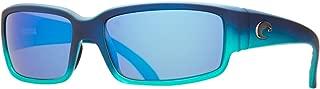 Costa Del Mar Caballito Adult Polarized Sunglasses, Matte Caribbean Fade/Blue