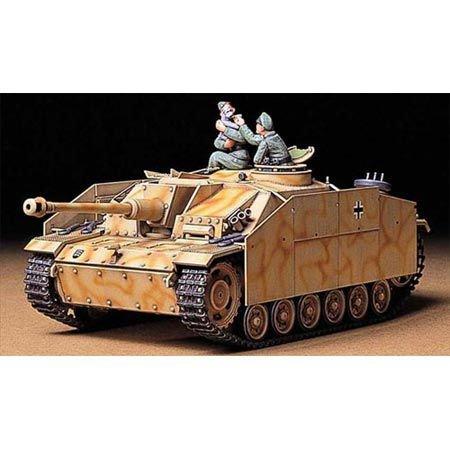 Tamiya 300035197 - Modellino carro Armato 142 1,  Sturmgeschütz III G della seconda Guerra Mondiale Realizzato in Scala 1:35