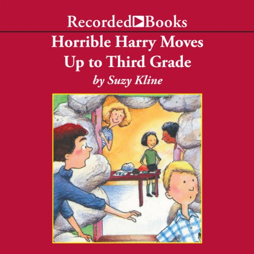 Horrible Harry Moves Up to Third Grade audiobook cover art