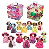 Cupcake Surprise Transforming Scented Princess Dolls Gift Set Bundle, Toys for 3 Year Old Girls - Pack of 2 (Assorted)