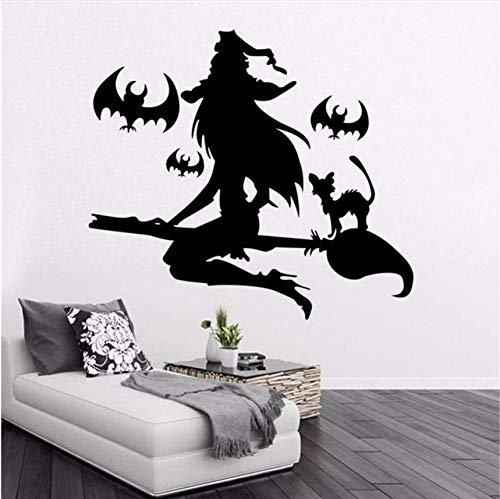 Knncch Abnehmbare Wandaufkleber Vinyl Diy Happy Halloween Wand Fenster Aufkleber Aufkleber Kunst Vinyl Home Room Decoration Wandbild Aufkleber