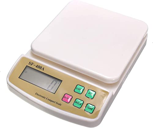 HEMIZA Kitchen Scale Electronic Digital Kitchen Weighing Scale 10 Kgs Weight Measure Spices Vegetable Liquids Multipurpose Weight Scale Kitchen Kitchen Weight Machine Digital Weighing Machine