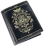 The Legend of Zelda Hyrule Kingdom Portefeuille Noir/doré (NNintendo Switch/PS4)