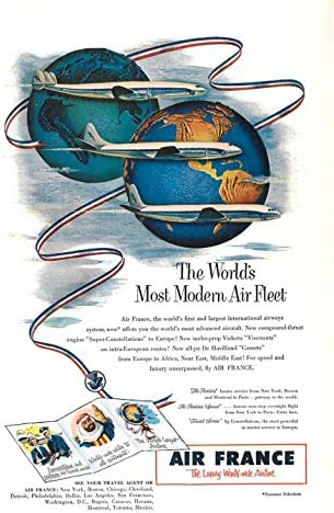 Print Ad 2021 autumn and winter new trend rank 1953 The Luxury Airline M Most World's World-Wide