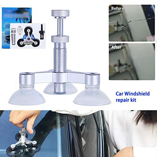 CYBfacai Auto-Windschutzscheiben-Reparatur-Set aus Aluminiumlegierung, Glasriss, Splitter-Scheibe, Reparaturset