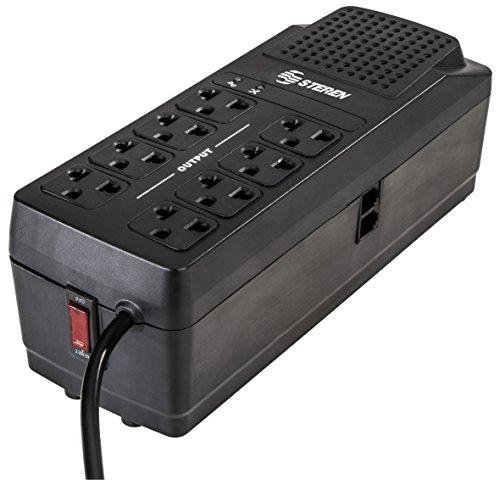 Steren REG-2050 – Regulador de voltaje (90-145V, 60 Hz, 120V, 60 Hz, 2000W, 140J)