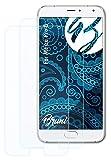 Bruni Schutzfolie kompatibel mit Meizu Pro 5 Folie, glasklare Bildschirmschutzfolie (2X)