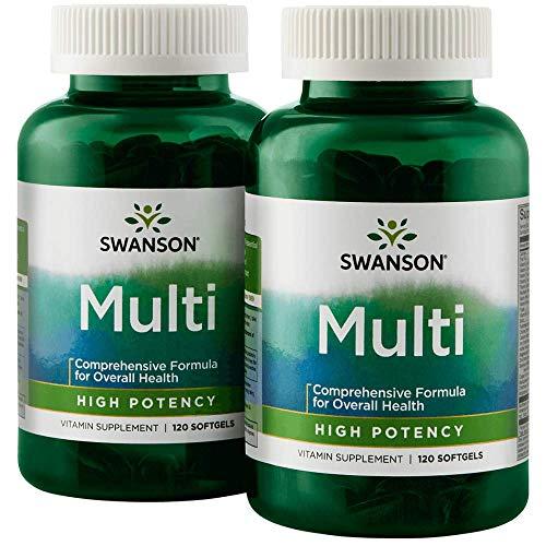 Swanson Multi High Potency 240 Sgels 2 Bottles