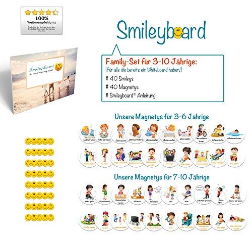 Smileyboard® Family-Set für 3-6 Jährige - Für alle die bereits ein Whiteboard haben!
