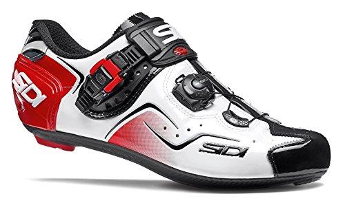 Sidi KAOS Shoes Herren White/Black/red Schuhgröße EU 44 2019 Schuhe