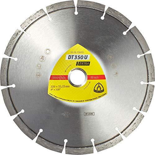 Klingspor 336223 Discos de Corte Diamantados para Tronzadoras Motorizadas/Cortadura de Juntas/Sierras de...
