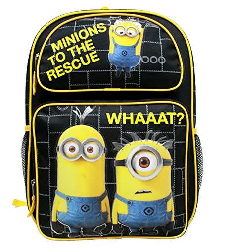 Despicable Me Minions To The Rescue Large 16 Backpack by Bag2School