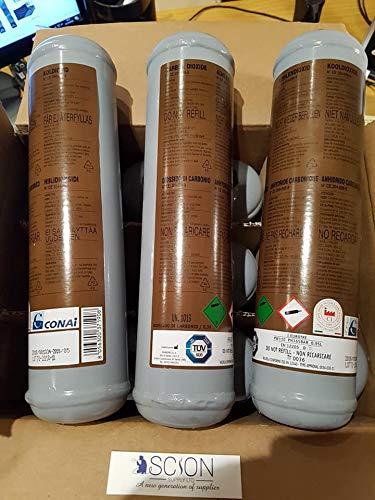 Cilindro de gas desechable de dióxido de carbono para soldadura MIG
