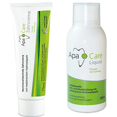 ApaCare Mundpflegeset Mundspülung + Zahnpasta