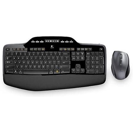 Logitech Mk710 Kabelloses Tastatur Maus Set 2 4 Ghz Computer Zubehör
