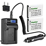 Kastar 2-Pack DB-L80 Battery and LCD AC...