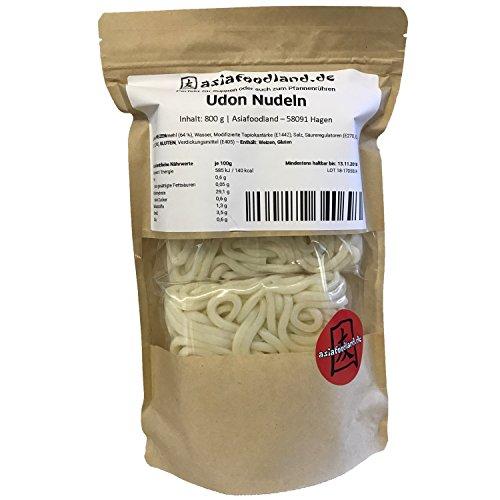 Asiafoodland - Udon Nudeln - frische Nudeln für z.B. asiatische Ramen, Bratnudeln, Suppen, Noodle / Noodles, 1er Pack (1 x 800 g)