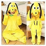 YUANYUAN520 Nachthemd für Erwachsene, Pyjama, Damen, Nachtwäsche, Unisex, niedliches Cartoon-Tier-Pyjama-Set mit Kapuze (Farbe: Pluto FL, Größe: 10T)