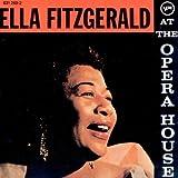 album cover: Ella Fitzgerald at the Opera House