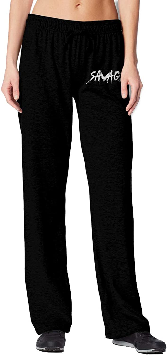 Meamyezz Women's Logan Paul Joggers Pants with Pockets