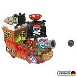 VTech 80-177804 Kleine Entdeckerbande - Piratenschiff Spielfiguren Babyfiguren, Normalverpackung,...