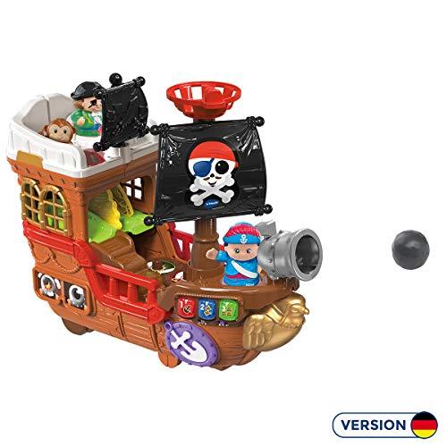 VTech 80-177804 Kleine Entdeckerbande - Piratenschiff Spielfiguren Babyfiguren, Normalverpackung, bunt