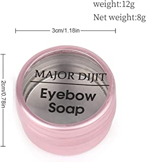 Sundlight Eyebrow Soap Kit Brows Styling Soap,Long Lasting Waterproof Smudge Proof Eyebrow Styling Pomade for Natural Brows, 3D Feathery Brows Makeup Balm