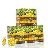 Zutec - Cápsulas de Zumo de Naranja - Compatibles con cafeteras Dolce Gusto* - 3 Estuches de 12 cápsulas - 36 cápsulas
