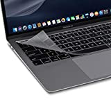 Moshi ClearGuard Keyboard Protector for MacBook Air 13' (2018-2019/US Layout), 0.1mm Thin, Washable & Reusable, Non-Toxic, High Transparency, for MacBook Air 13' (A1932), NOT for MacBook Air 13' 2020